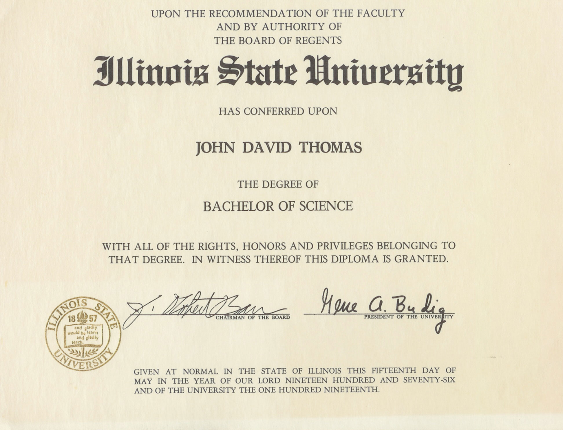 Bachelor Of Science Suomeksi