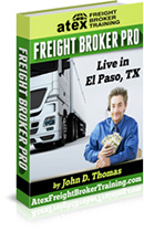 Atex Freight Broker Training Live in El Paso